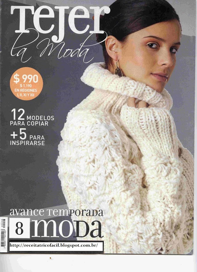 Tejer La Moda -Revista Tricô em Espanhol