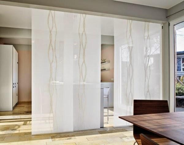 Rideau japonais rideaux et voilages - Rideau japonais design ...