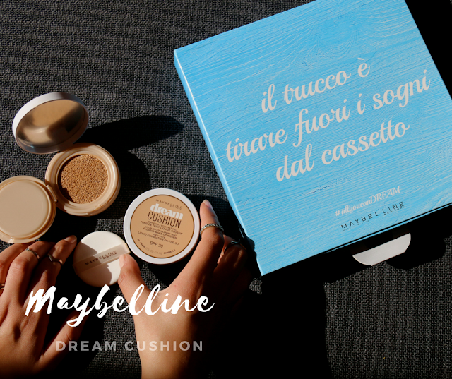 maybelline dream cushion review fashion's obsessions zairadurso zaira d'urso blogger italia fashion blog review fondo cushion maybelline new york maybelline new york italia