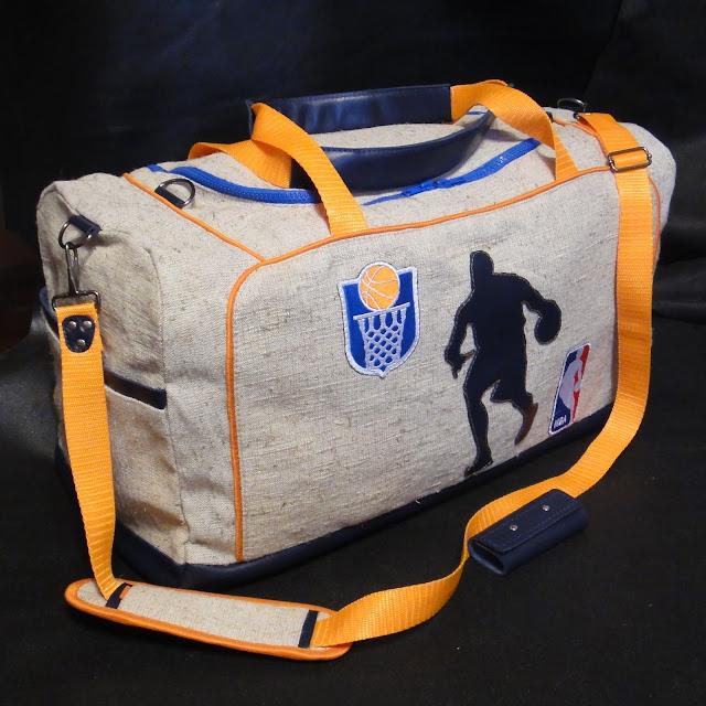 Спортивная сумка Баскетбол, подарок мужу баскетболисту, большая мужская сумка