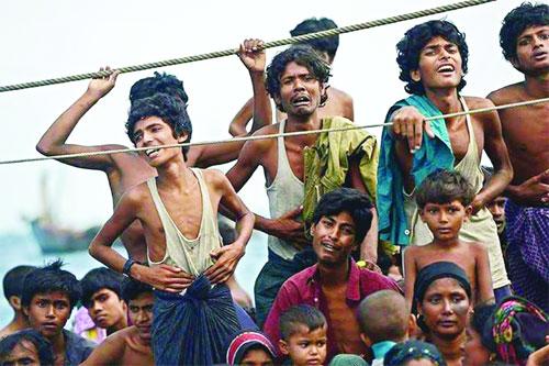 রোহিঙ্গাদের মানবিক সাহায্য পৌঁছাতে ১৪ দেশের আহ্বান