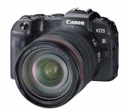 New Canon EOS RP Full-Frame Mirrorless