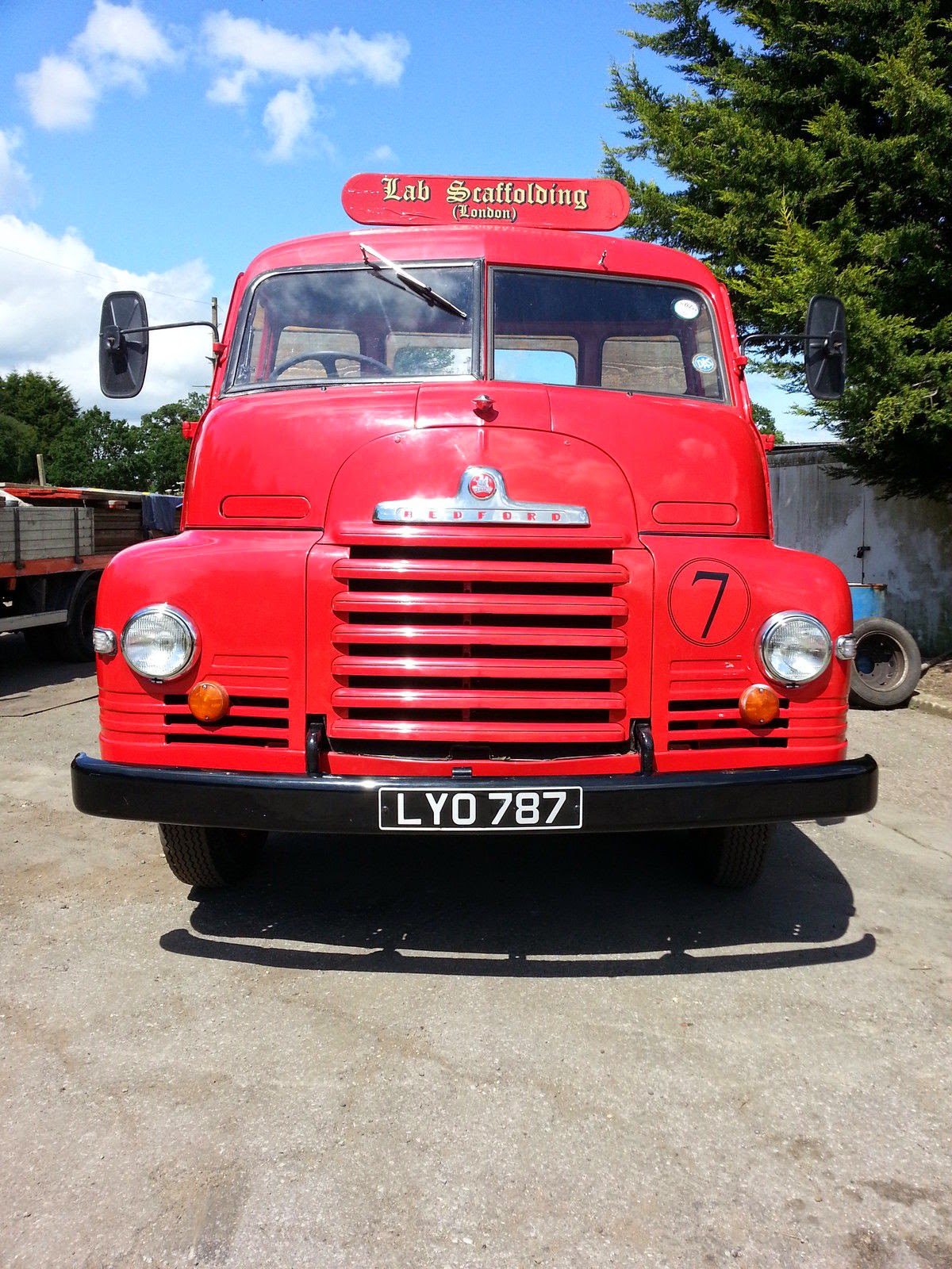 Bedford S Type Flatbed Truck