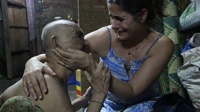 La grand-mère de Boeng Trabbek et Ermine Norodom