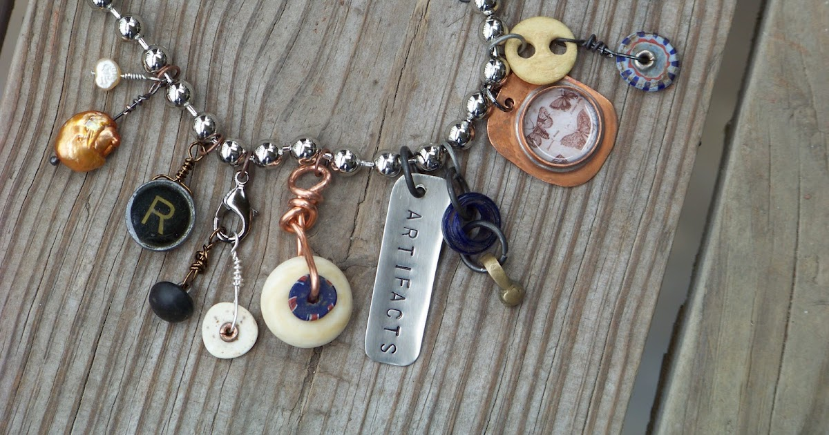 Roses In Garden: Silver Trappings: Artifacts Jewelry For My Scientist Daughter