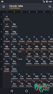Periodic table 2018 pro v0140 patched apk paidfullpro apk apps screenshots periodic table 2018 pro patched apk urtaz Image collections