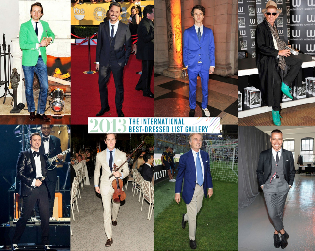 Best male dressed 2013
