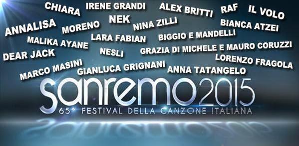 Sanremo festival sanremo 2015 65 festival della for Disegno una finestra tra le stelle karaoke