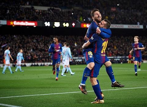 Messi và Alba, song tấu hoàn hảo của Barca