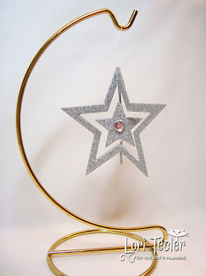 Holiday Star Ornament-designed by Lori Tecler-Inking Aloud-dies from The Cat's Pajamas