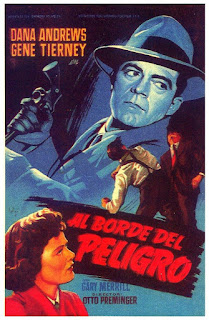 Where the Sidewalk Ends, Al borde del peligro, Otto Preminger