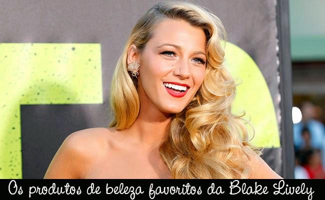 produtos, beleza, Blake Lively