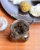 Mint thokku recipe