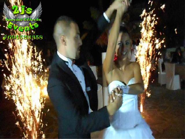 ΓΑΜΟΣ ΜΕ ΣΥΝΤΡΙΒΑΝΙΑ ΦΩΤΙΑΣ ΚΑΙ ΠΥΡΟΤΕΧΝΗΜΑΤΑ ΣΥΡΟΣ ΕΙΔΙΚΑ ΕΦΕ SYROS2JS EVENTS