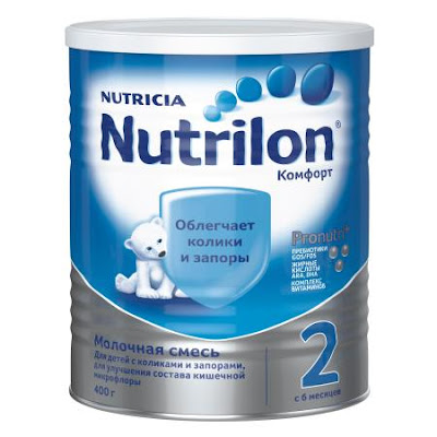 Sữa Nutrilon Comfort 2 hộp 400g từ 6 tháng tuổi