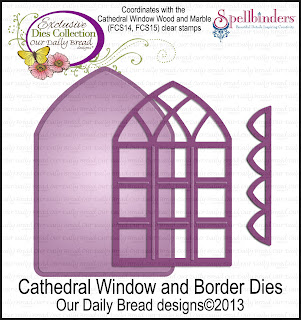 ODBD Exclusive Spellbinders Cathedral Window and Border Dies