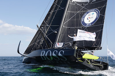 Alex Thomson et Hugo Boss, 3e de la New York - Vendée