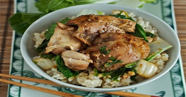 Vietnamese Slow Cooker Chicken With Bok Choy Recipe