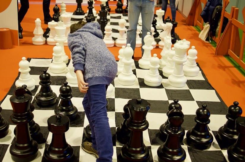 Taller de ajedrez en Schools Day
