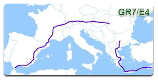 Resultado de imagen de esquerma del ,gr-7 senderismo desde bulgaria