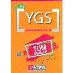 Kavram YGS MF Tüm Dersler 1.Dönem Tekrar Testleri (2016)