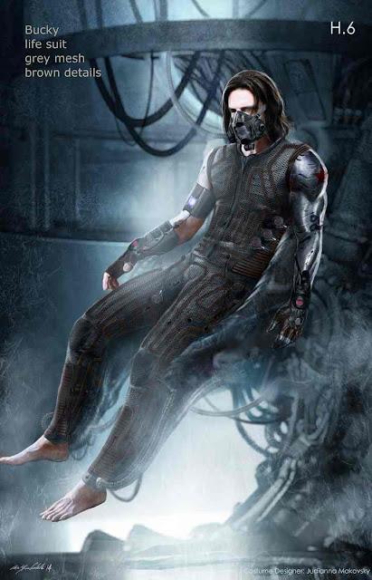 Sebastian Stan es Bucky Barnes en Civil War