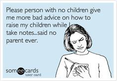 Skram inte upp barnen