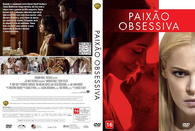 Capa DVD Paixão Obsessiva [Exclusiva]