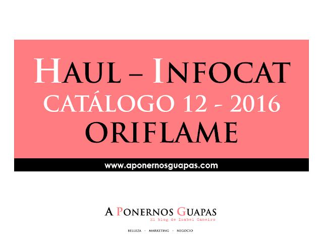 haul infocat catálogo 12 oriflame