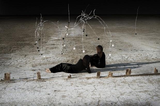 """imagenes de arte, bellas, fotos cool, by Corinne Mercadier - """"Le temps est toujours là"""", proyecto """"Solo""""."""