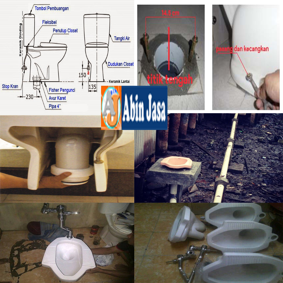 Ahlinya WC, Pelancar Closet, Memasang Closet 08158353099