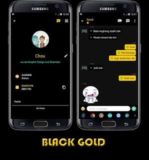 BBM MOD Smooth Black APK V3.0.1.25 For android Free