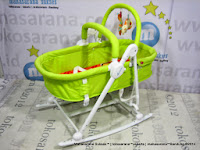 Junior L'abeile MC303 2 in 1 Rocking Higher (Rocker and Bassinet)