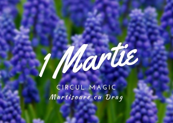 Martisoare Flori Quilling 2017 Zambilute Circul Magic