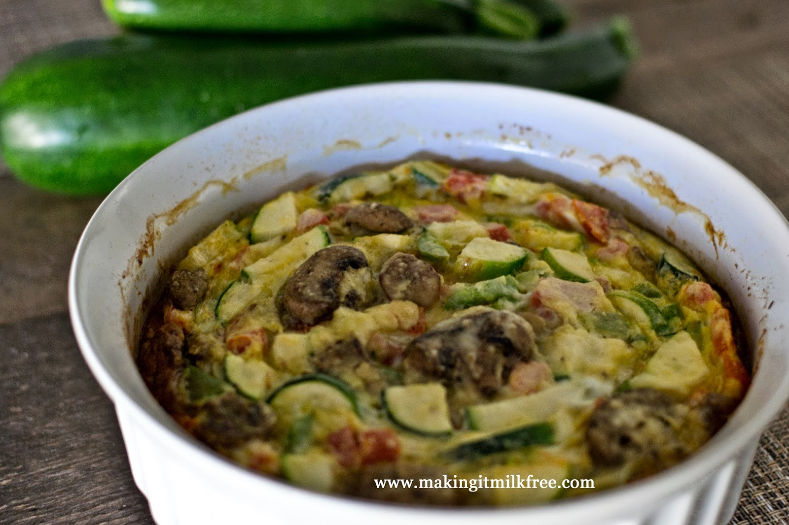 #dairyfree #glutenfree #vegetable #frittata