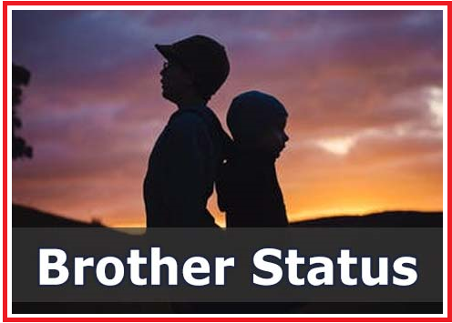 Best Brother Status 1000+ | Best Brother Status in English, Hindi