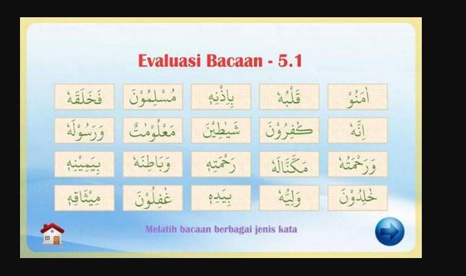 Aplikasi Belajar Baca Al-Qur'an - Membaca Al-Qur'an