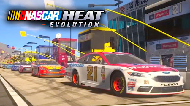 Baixar NASCAR Heat Evolution (PC) + Crack