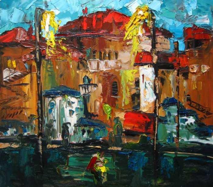 Молодой молдавский художник. Valeria Duca 3