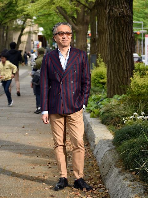 40代メンズのジャケパン スタイル