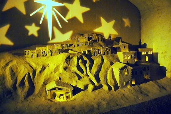 kerststal grotten valkenburg