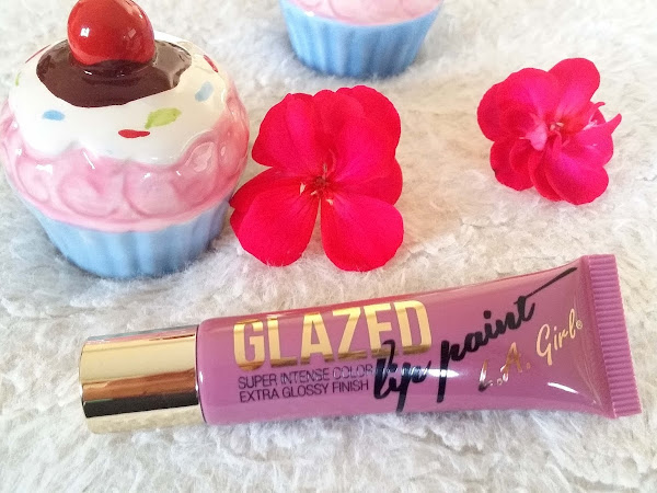 LA GIRL Glazed Lip Paint - Blushing