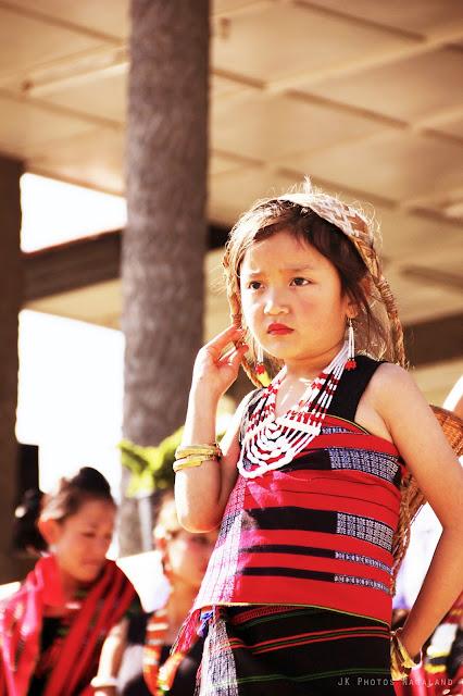 Nagaland Cultural Photos Lotha Tokhu Emong Photos Girl in traditional dress