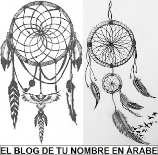 Simbolo Atrapasueños blanco y negro