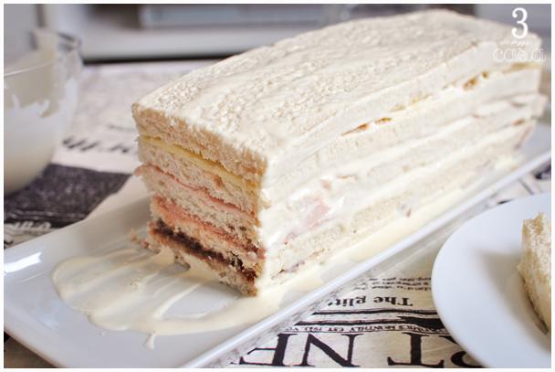 torta fria de pão prática