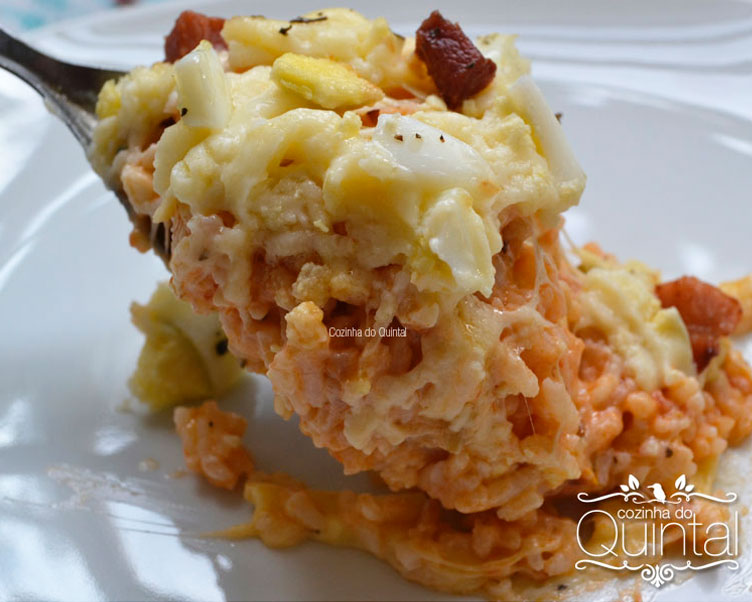 Arroz de Forno é uma comida favorita =)