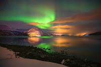 Aurora over Furuflaten