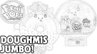 Pikmi Pops Surprise! DoughMis Coloring Pages Free and Downloadable coloring.filminspector.com