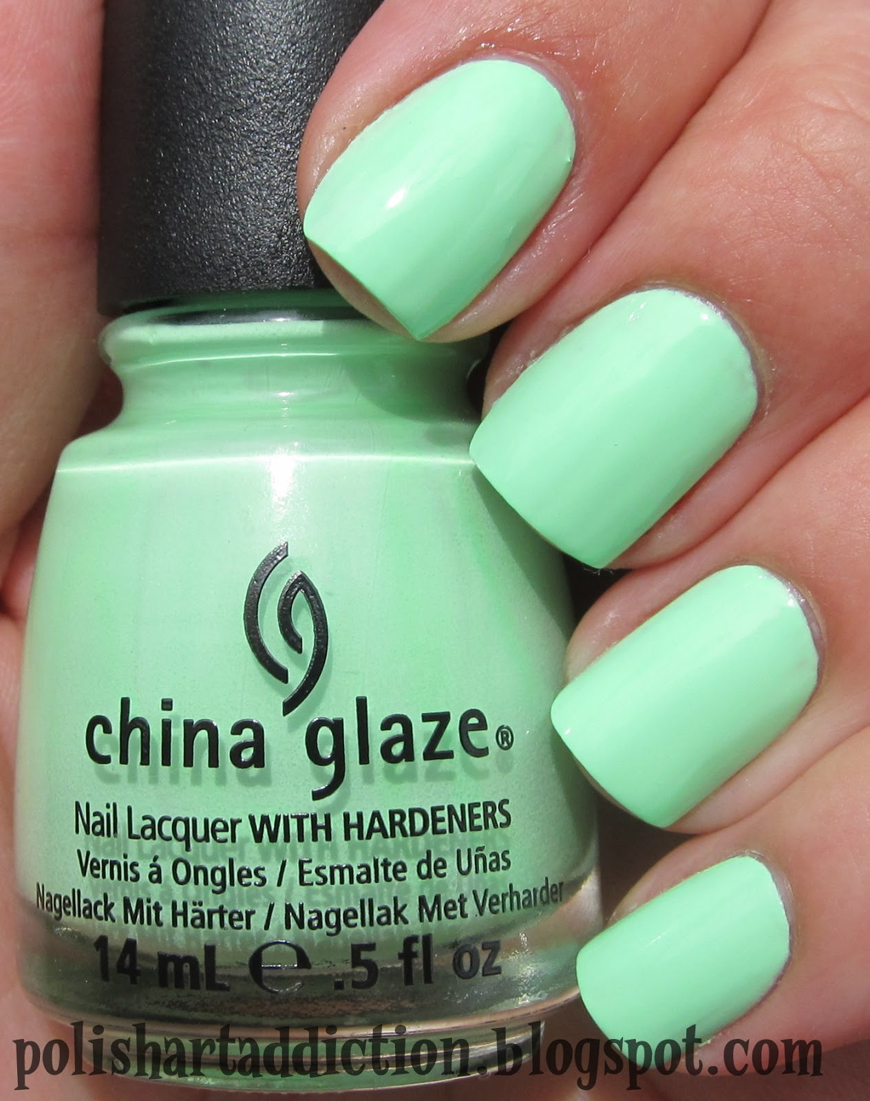 China Glaze - Highlight Of My Summer & Shell-O