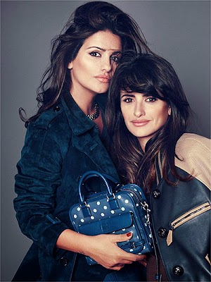 Penelope Cruz and sister Monica present their new collection for Loewe
